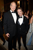 David Letterman and Martin Short attend the 37th Annual Kennedy Center Honors at The John F Kennedy Center for Performing Arts on December 7 2014 in...