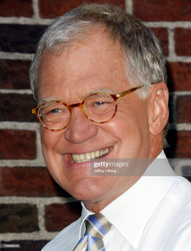 """Andy Roddick Visits """"Late Show With David Letterman"""" - August 27, 2009"""