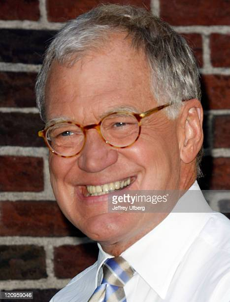 David Letterman arrives at the ''Late Show with David Letterman'' at the Ed Sullivan Theater on August 27 2009 in New York City