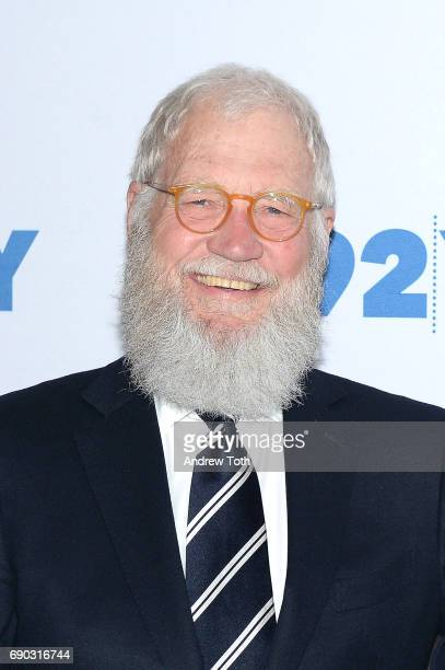 David Letterman attends the 92nd Street Y presents Senator Al Franken in conversation with David Letterman at 92nd Street Y on May 30 2017 in New...
