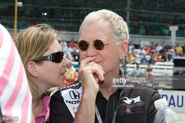 David Letterman attends the 93rd running of the Indianapolis 500 at Indianapolis Motor Speedway on May 24 2009 in Indianapolis Indiana