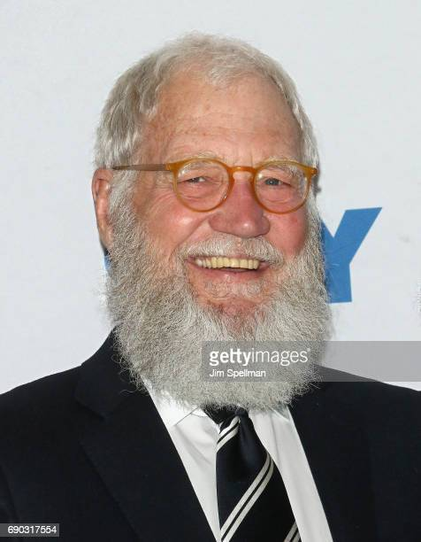 David Letterman hosts a conversation with senator Al Franken presented by 92nd Street Y on May 30 2017 in New York City