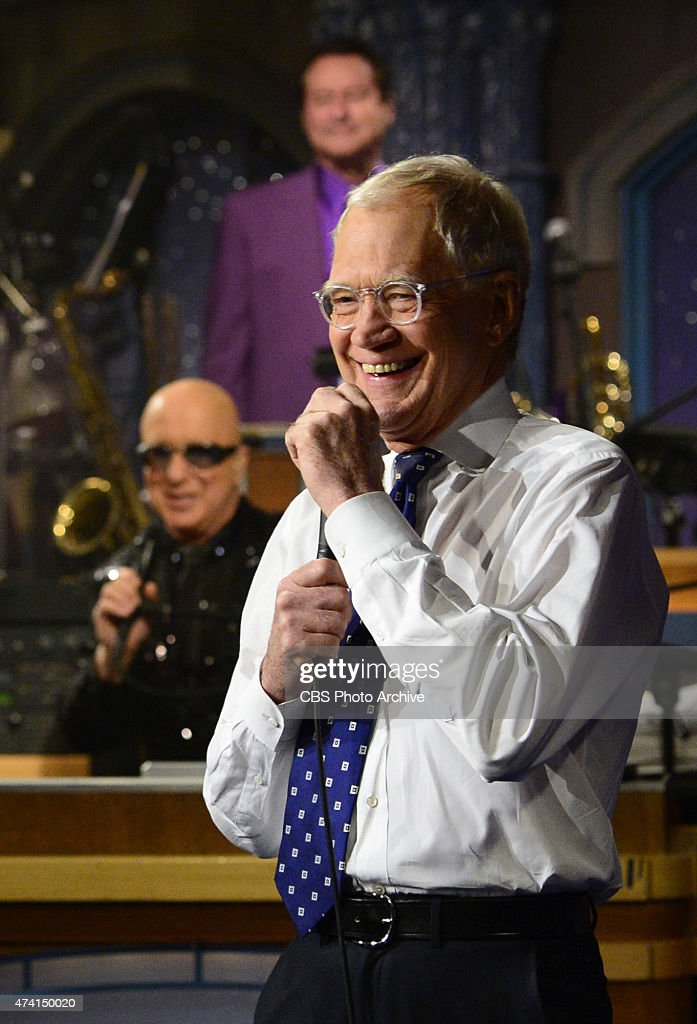 <a gi-track='captionPersonalityLinkClicked' href=/galleries/search?phrase=David+Letterman+-+Programledare&family=editorial&specificpeople=171322 ng-click='$event.stopPropagation()'>David Letterman</a> hosts his final broadcast of the Late Show with <a gi-track='captionPersonalityLinkClicked' href=/galleries/search?phrase=David+Letterman+-+Programledare&family=editorial&specificpeople=171322 ng-click='$event.stopPropagation()'>David Letterman</a>, Wednesday May 20, 2015 on the CBS Television Network. After 33 years in late night television, 6,028 broadcasts, nearly 20,000 total guest appearances, 16 Emmy Awards and more than 4,600 career Top Ten Lists, <a gi-track='captionPersonalityLinkClicked' href=/galleries/search?phrase=David+Letterman+-+Programledare&family=editorial&specificpeople=171322 ng-click='$event.stopPropagation()'>David Letterman</a> says goodbye to late night television audiences. The show was taped Wednesday at the Ed Sullivan Theater in New York.