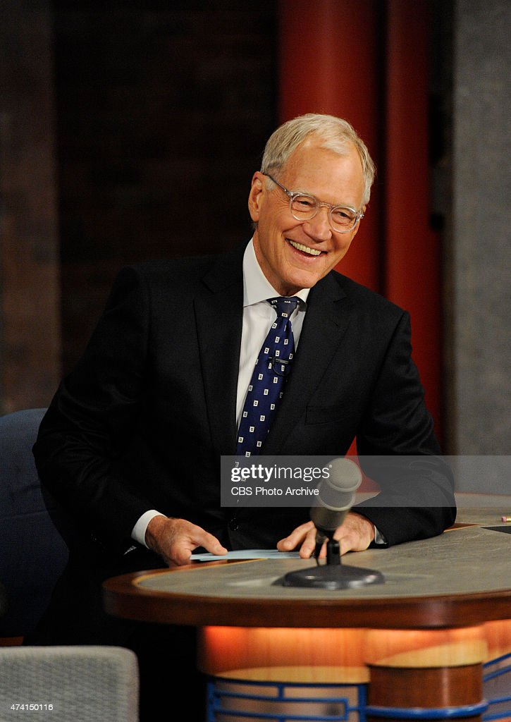 <a gi-track='captionPersonalityLinkClicked' href=/galleries/search?phrase=David+Letterman&family=editorial&specificpeople=171322 ng-click='$event.stopPropagation()'>David Letterman</a> hosts his final broadcast of the Late Show with <a gi-track='captionPersonalityLinkClicked' href=/galleries/search?phrase=David+Letterman&family=editorial&specificpeople=171322 ng-click='$event.stopPropagation()'>David Letterman</a>, Wednesday May 20, 2015 on the CBS Television Network. After 33 years in late night television, 6,028 broadcasts, nearly 20,000 total guest appearances, 16 Emmy Awards and more than 4,600 career Top Ten Lists, <a gi-track='captionPersonalityLinkClicked' href=/galleries/search?phrase=David+Letterman&family=editorial&specificpeople=171322 ng-click='$event.stopPropagation()'>David Letterman</a> says goodbye to late night television audiences. The show was taped Wednesday at the Ed Sullivan Theater in New York.