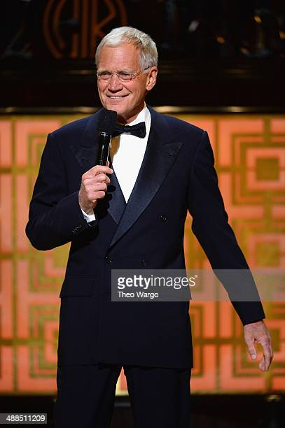 David Letterman speaks onstage at Spike TV's 'Don Rickles One Night Only' on May 6 2014 in New York City