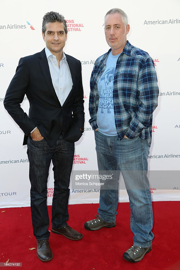 David Levien (L) and Brian Koppelman attend the 21st Annual Hamptons International Film Festival on October 12, 2013 in East Hampton, New York.