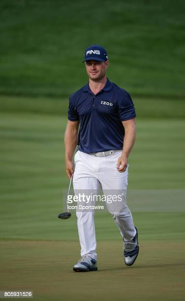 David Lingmerth during the final round of the Quicken Loans National on July 02 2017 at TPC Potomac at Avenel Farm in Potomac MD