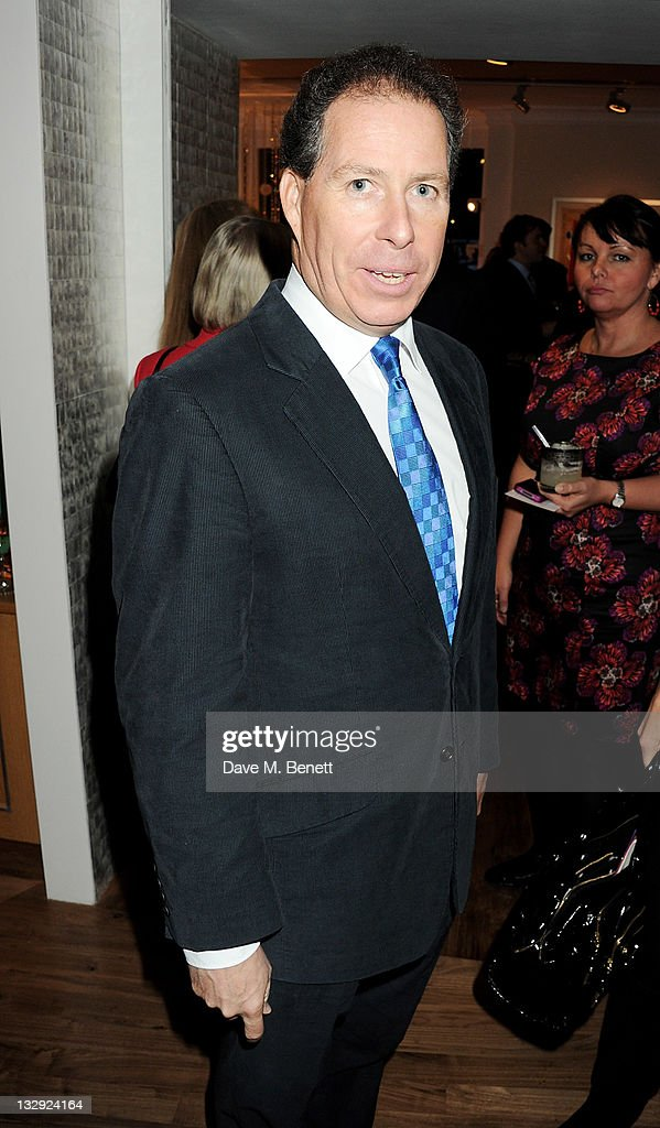 David Linley attends the Linley Christmas Party on November 15, 2011 in London, England.