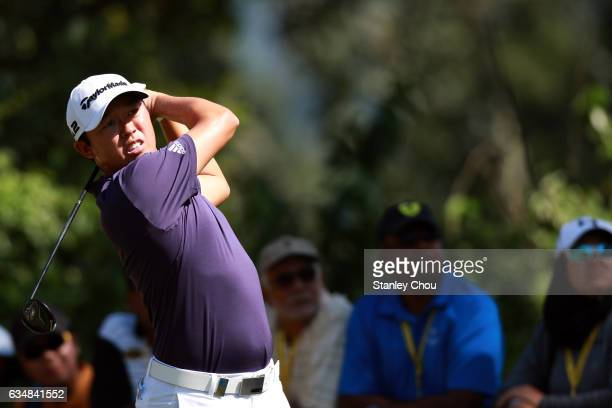 David Lipsky of the United States in action during Day Four of the Maybank Championship Malaysia at Saujana Golf and Country Club on February 12 2017...