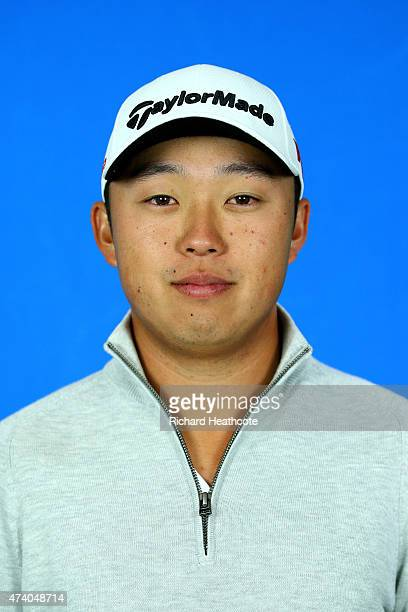 David Lipsky of the USA poses for a portrait during a practice day for the BMW PGA Championships at Wentworth on May 20 2015 in Virginia Water England