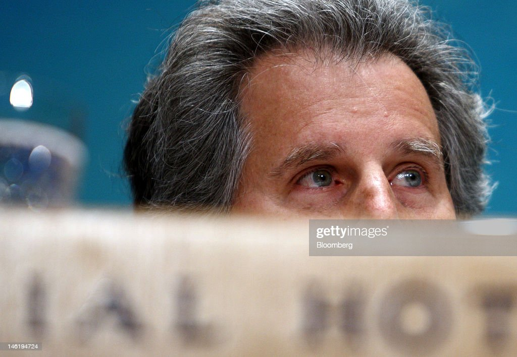 David Lipton first deputy managing director of the International Monetary Fund attends a news conference in Tokyo Japan on Tuesday June 12 2012 The...