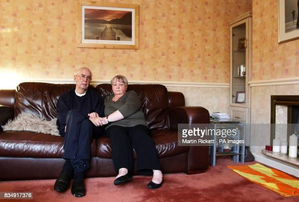 David Lloyd and Annette Edwards at their home in Sale