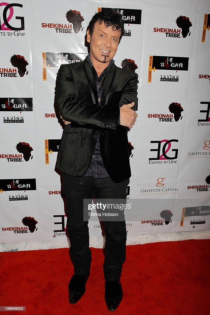 David Longoria attends the Shekinah Tribe charity film fundraiser hosted by Pattie Mallette at Writers Guild Theater on November 17, 2012 in Beverly Hills, California.