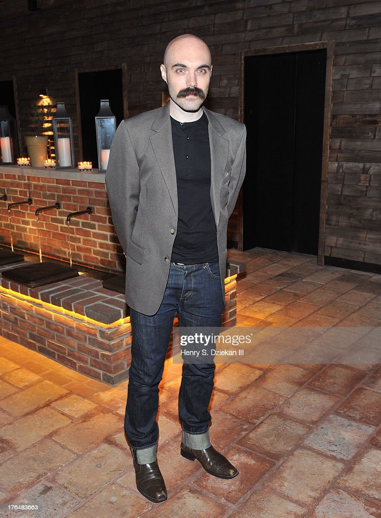 David Lowery attends the Downtown Calvin Klein with The Cinema Society screening of IFC Films' 'Ain't Them Bodies Saints' after party at Refinery Rooftop on August 13, 2013 in New York City.