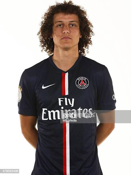 David LUIZ Portrait Officiel Paris Saint Germain Photo Gavelle / PSG / Icon Sport/MB Media
