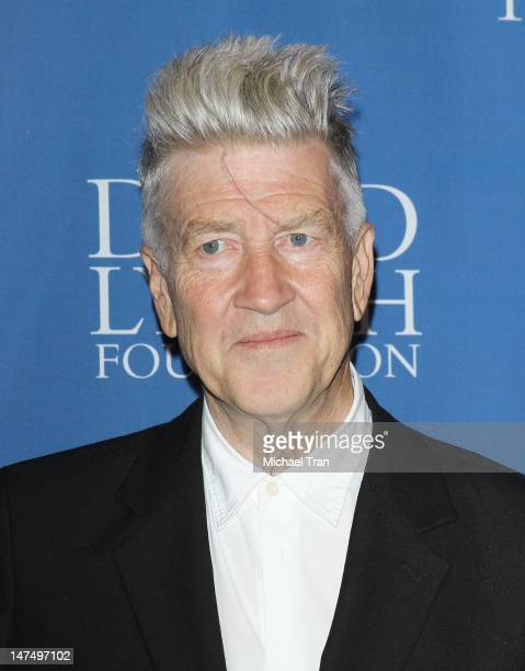 David Lynch arrives at The David Lynch Foundation hosts a 'Night of Comedy' held at the Beverly Wilshire hotel on June 30 2012 in Beverly Hills...