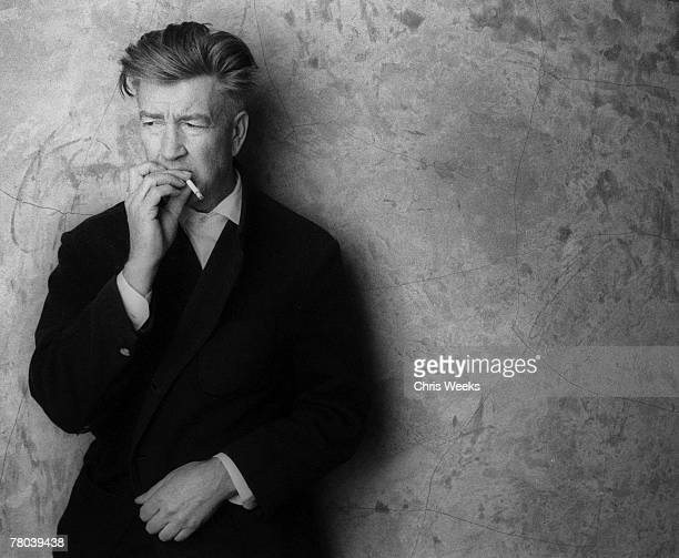 David Lynch at his studio March 15 in Hollywood