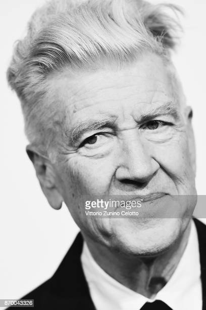 David Lynch attends a photocall during the 12th Rome Film Fest at Auditorium Parco Della Musica on November 4 2017 in Rome Italy