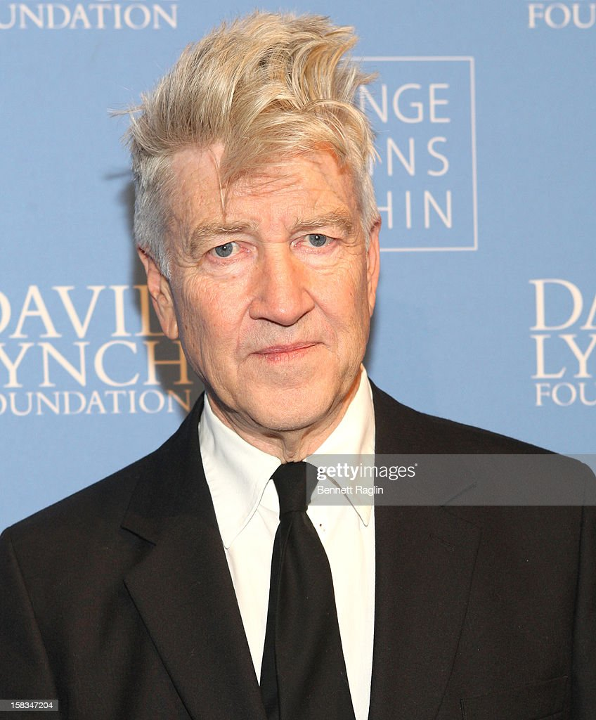 <a gi-track='captionPersonalityLinkClicked' href=/galleries/search?phrase=David+Lynch&family=editorial&specificpeople=224589 ng-click='$event.stopPropagation()'>David Lynch</a> attends The <a gi-track='captionPersonalityLinkClicked' href=/galleries/search?phrase=David+Lynch&family=editorial&specificpeople=224589 ng-click='$event.stopPropagation()'>David Lynch</a> Foundation Hosts 'An Intimate Night Of Jazz' at Frederick P. Rose Hall, Jazz at Lincoln Center on December 13, 2012 in New York City.