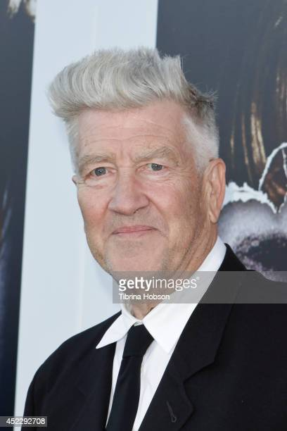 David Lynch attends the 'Twin Peaks' BluRay/DVD release party and screening at the Vista Theatre on July 16 2014 in Los Angeles California