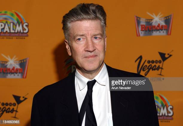 David Lynch during CineVegas 2004 David Lynch Receives the CineVegas Vanguard Director AwardArrivals and Green Room at Brenden Theatres in Las Vegas...