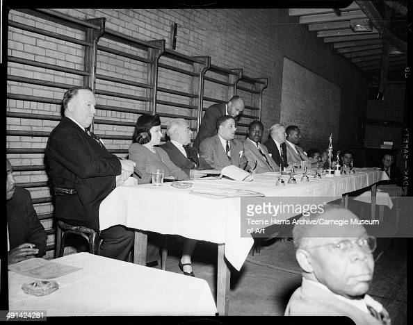 David M Roberts Jessie Vann Mayor David L Lawrence attorney Paul F Jones James Burgett boxer Ezzard Charles James S Devlin and baseball player Luke...
