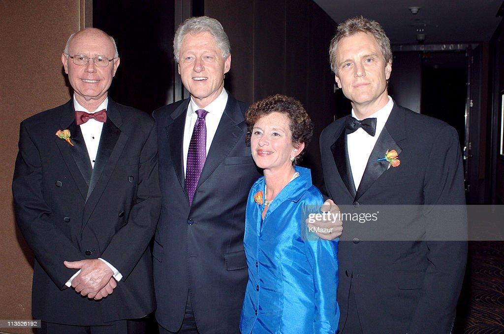David M Rubin dean Syracuse University Bill Clinton Nancy Cantor chancellor/president Syracuse University and John Sykes
