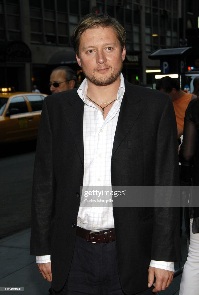 David MacKenzie director during 'Asylum' New York Premiere Arrivals at MGM Screening Room in New York City New York United States
