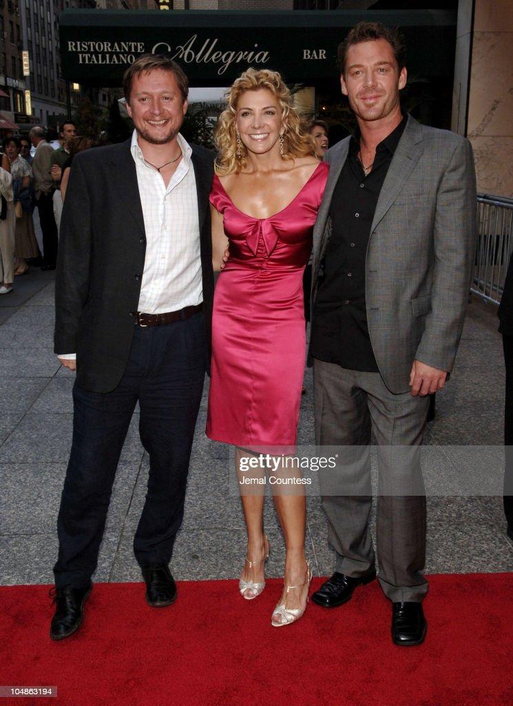 David Mackenzie director Natasha Richardson and Marton Csokas