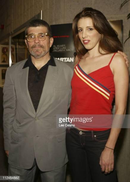 David Mamet and Alexandra Kerry daughter of Sen John Kerry
