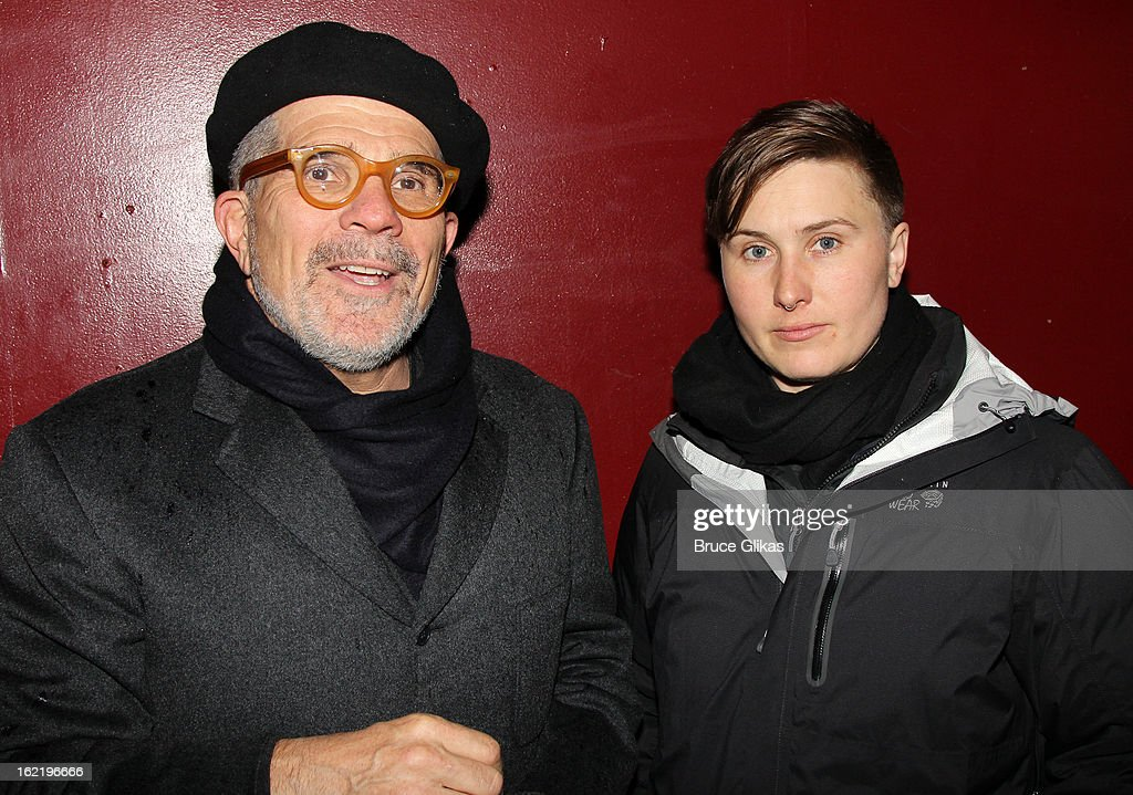 <a gi-track='captionPersonalityLinkClicked' href=/galleries/search?phrase=David+Mamet&family=editorial&specificpeople=239501 ng-click='$event.stopPropagation()'>David Mamet</a> and daughter photographer Willa Mamet attend 'Really, Really' on Opening Night at the Lucille Lortel Theatre on February 19, 2013 in New York, United States.