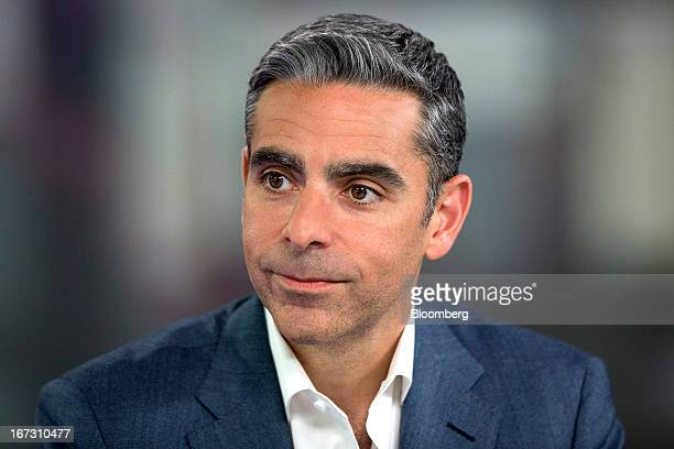 David Marcus president of PayPal a unit of EBay Inc pauses during a Bloomberg Television interview in London UK on Wednesday April 24 2013 EBay based...