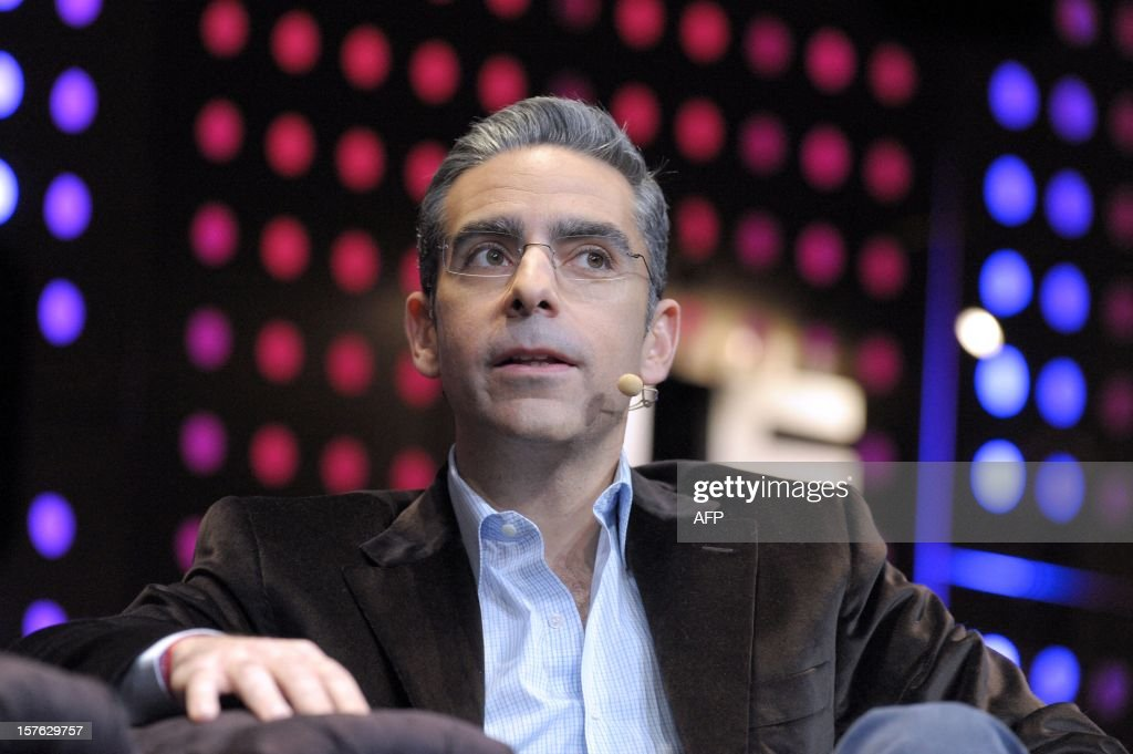 David Marcus, Swiss President of online payment company Paypal listens while attending a session at LeWeb Paris 2012 in Saint-Denis, near Paris on December 5, 2012.