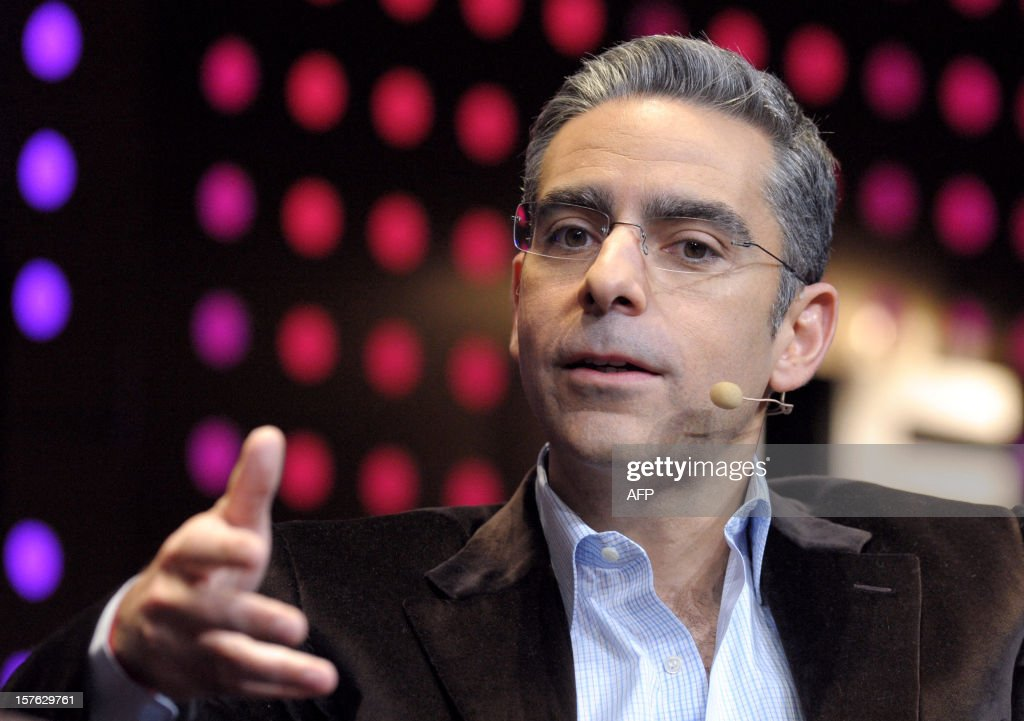 David Marcus, Swiss President of online payment company Paypal speaks during a session at LeWeb Paris 2012 in Saint-Denis, near Paris on December 5, 2012.