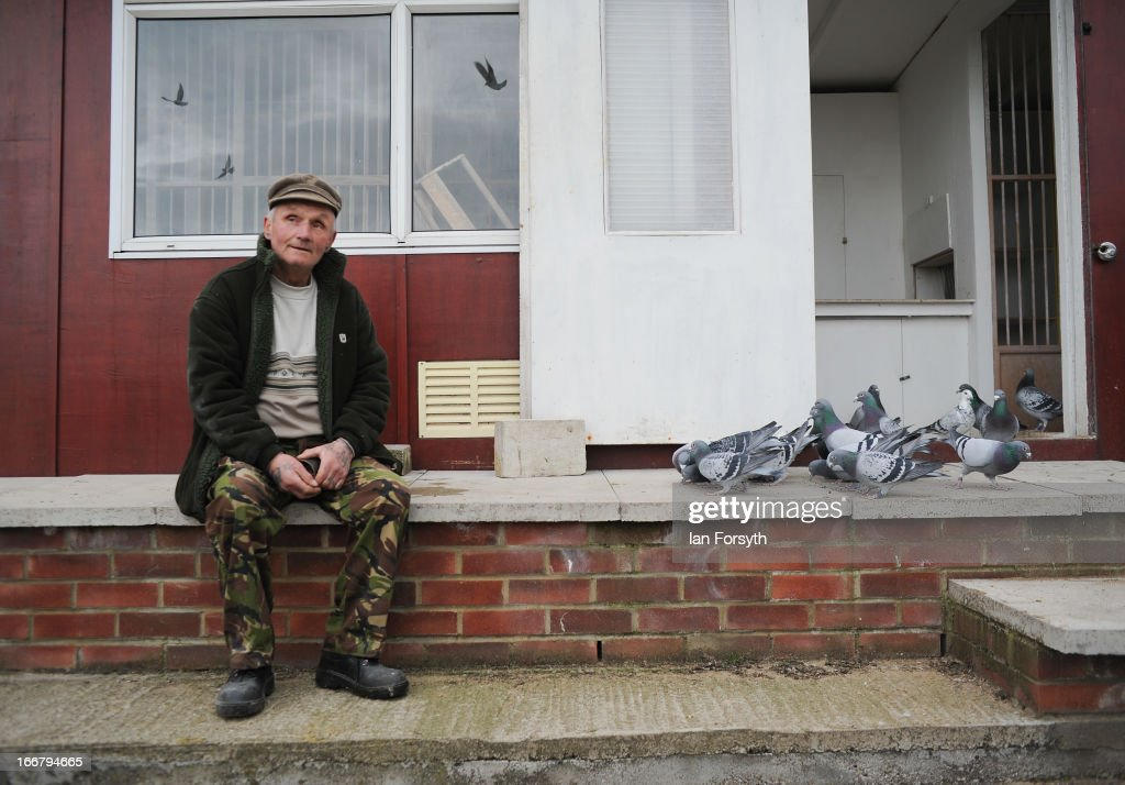 David Marr, who spent a brief period working at the mine in Easington, looks after his racing pigeons on April 17, 2013 in Easington, England. Former miners and their families are today holding a commemoration party for the closure of the pit at Easington Colliery; coinciding with the ceremonial funeral for Baroness Thatcher, who took on the mining union during the miners' strike which ultimately led to the closure of the mines and the loss of jobs. Dignitaries from around the world today join Queen Elizabeth II and Prince Philip, Duke of Edinburgh as the United Kingdom pays tribute to former Prime Minster Baroness Thatcher during a Ceremonial funeral with military honours at St Paul's Cathedral. Lady Thatcher, who died last week, was the first British female Prime Minister and served from 1979 to 1990.