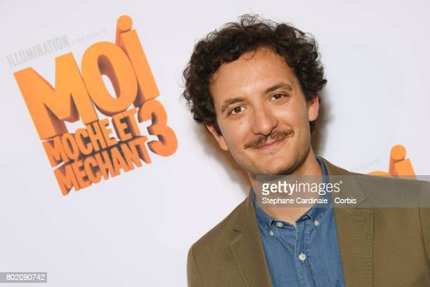 David Marsais attends the Despicable Me Paris Premiere at Cinema Gaumont Marignan on June 27 2017 in Paris France
