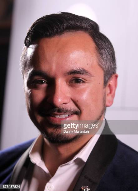 David Martinez attends the Independent Filmmaker's Ball on April 26 2017 in London United Kingdom