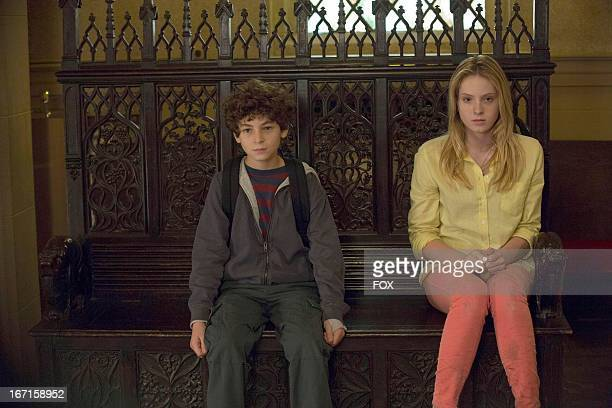 David Mazouz and Saxon Sharbino star in the 'Two of a Kind' episode of TOUCH airing Friday April 5 2013 on FOX