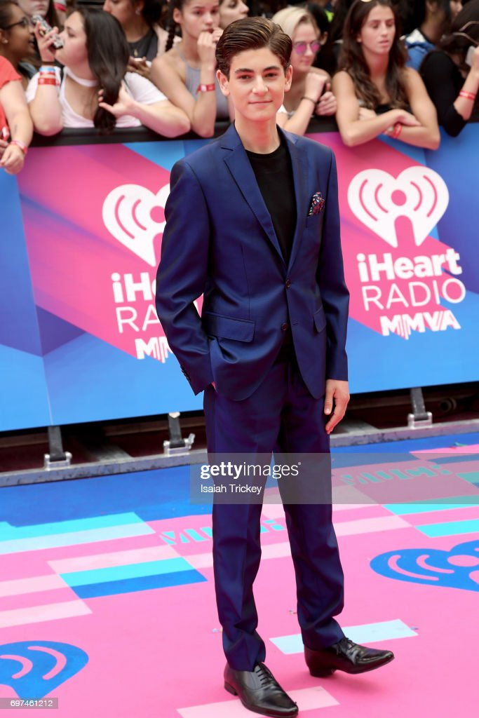 David Mazouz arrives at the 2017 iHeartRADIO MuchMusic Video Awards at MuchMusic HQ on June 18, 2017 in Toronto, Canada.