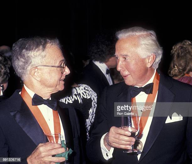 David McCullough attends A Decade of Literary Lions Benefit Gala on November 8 1990 at the New York Public Library in New York City