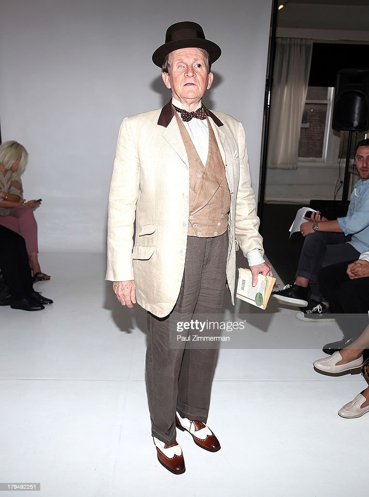 David McDermott attends the Organic By John Patrick show during Spring 2014 Mercedes-Benz Fashion Week on September 4, 2013 in New York City.