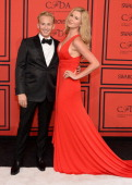 David Meister and Ireland Baldwin attend 2013 CFDA Fashion Awards at Alice Tully Hall on June 3 2013 in New York City