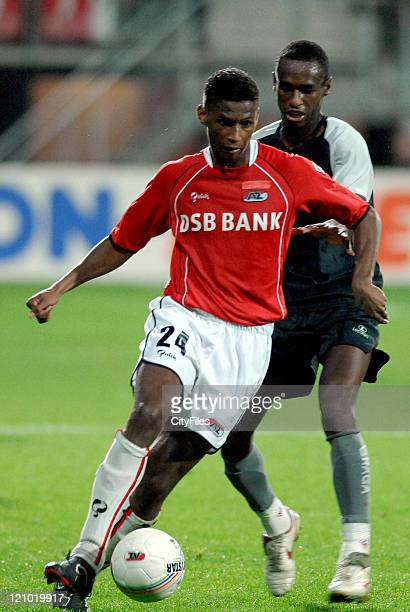 David Mendes da Silva from Alkmaar during the UEFA Cup match between AZ Alkmaar and Braga FC in Alkmaar Netherlands on October 19 2006