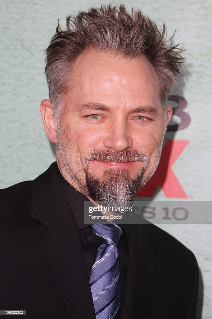 David Meunier attends the FX's 'Justified' season 4 premiere held at Paramount Theater on the Paramount Studios lot on January 5, 2013 in Hollywood, California.