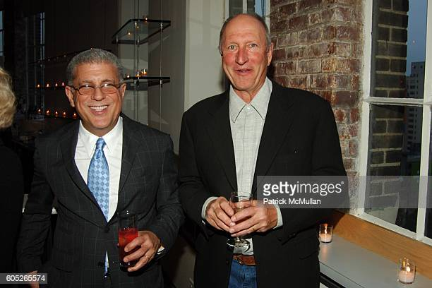 David Midas and Bruce Nauman attend The Drawing Center 2006 Gala at The Drawing Center and Tribeca Rooftop on May 8 2006 in New York City