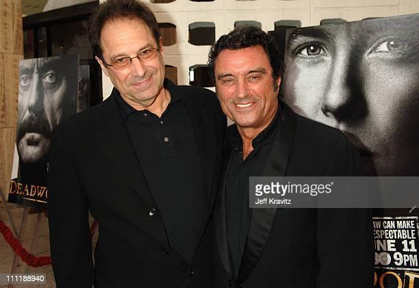 David Milch creator/executive producer and Ian McShane