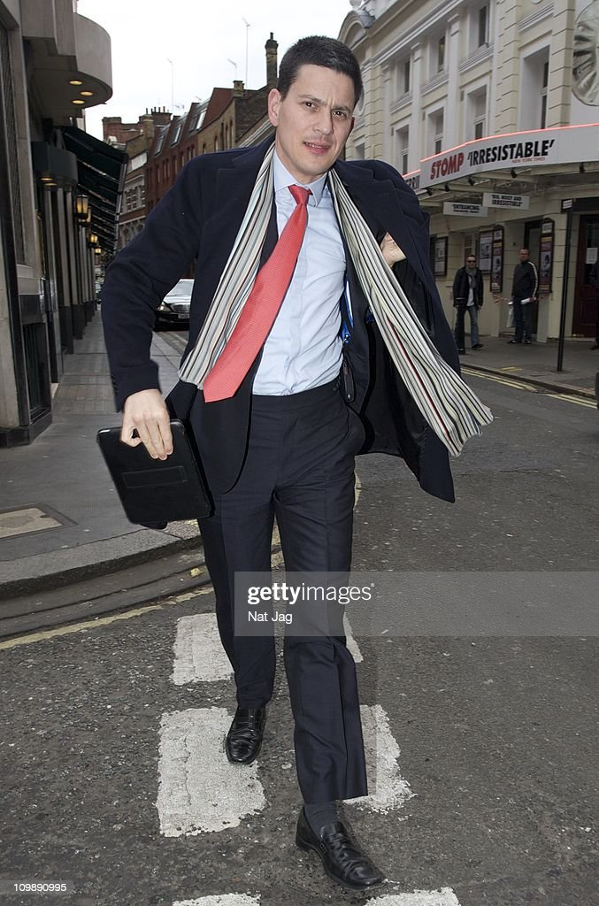 MP <a gi-track='captionPersonalityLinkClicked' href=/galleries/search?phrase=David+Miliband&family=editorial&specificpeople=206702 ng-click='$event.stopPropagation()'>David Miliband</a> sighting at the Ivy on March 9, 2011 in London, England.
