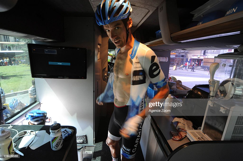 David Millar of Team Garmin - Cervelo during Stage 17 of the Tour de France on July 20, 2011 from Gap to Pinerolo, Italy.