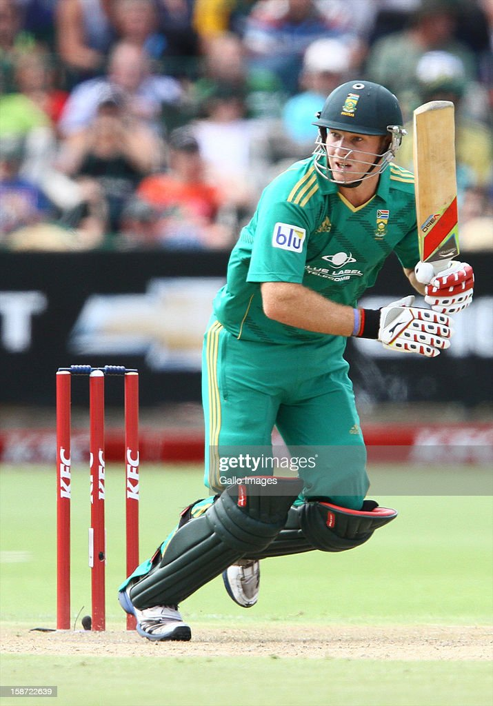 David Miller of South Africa during the 3rd T20 International match between South Africa and New Zealand at AXXESS St Georges on December 26, 2012 in Port Elizabeth, South Africa.
