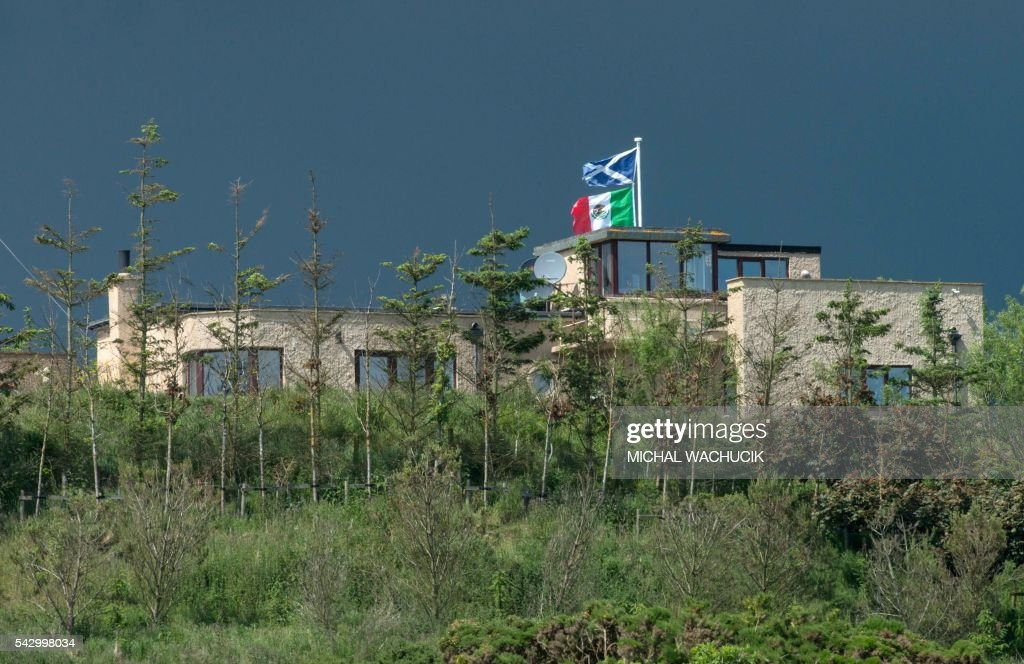 Donald Trump's International Golf Links course, north of Aberdeen ...